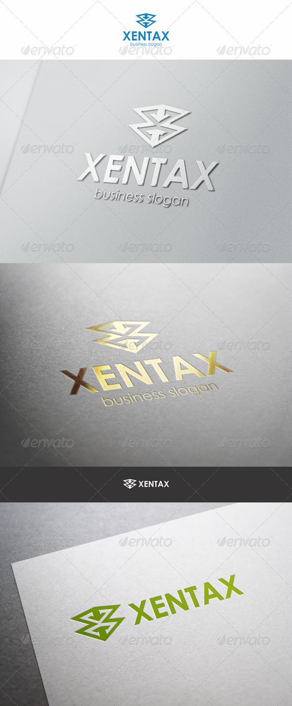 GraphicRiver Xentax X Letter Logo 6270938