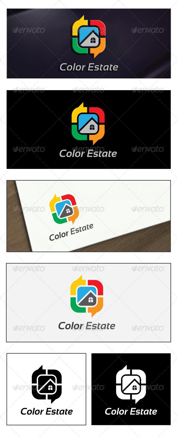 GraphicRiver Color Estate Logo 6271079