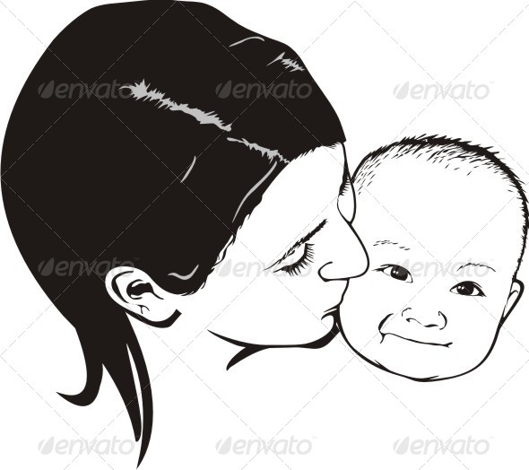 GraphicRiver Mother and Boy 6250225