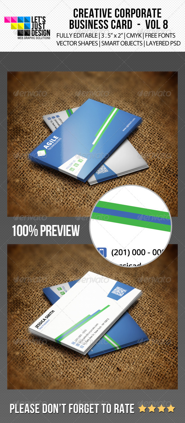 GraphicRiver Corporate Business Card Vol 8 6271810