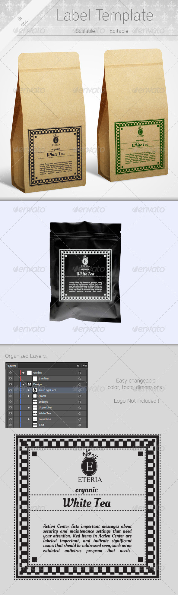 GraphicRiver Label Template 6266389