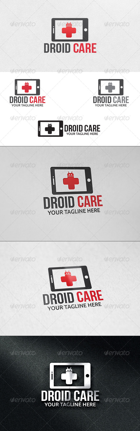 GraphicRiver Mobile Care Logo Template 6272896