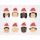 Christmas Funny Kids Icons