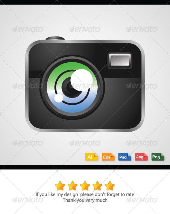GraphicRiver Digital Camera Vector 6273937