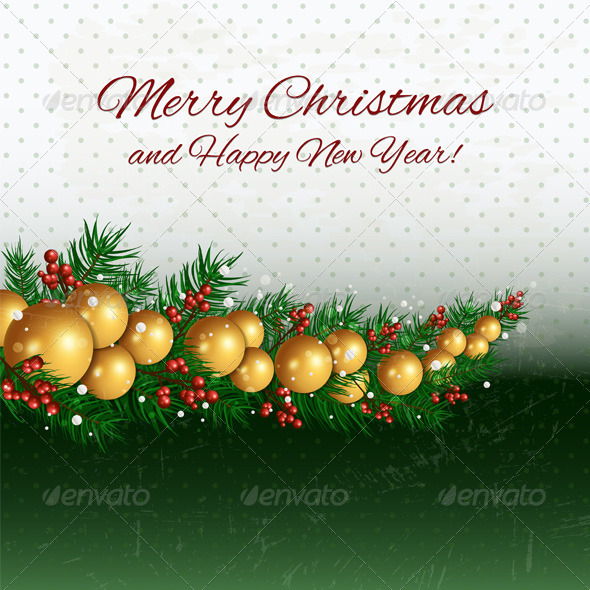 GraphicRiver Merry Christmas Background 6273939