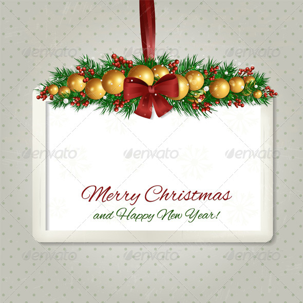GraphicRiver Christmas Label 6273950