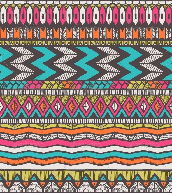 GraphicRiver Tribal Vector Pattern 6273968