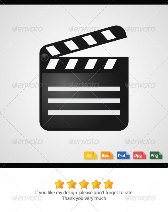 GraphicRiver Movie Cut Board Vector 6273972
