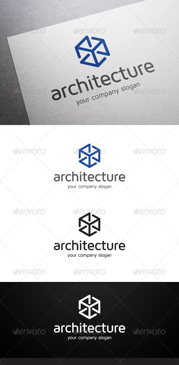 GraphicRiver Architecture Logo V2 6274138