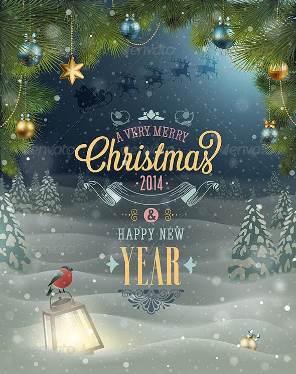 GraphicRiver Christmas Poster 6274211