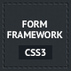 CSS3 Form Framework - CodeCanyon Item for Sale