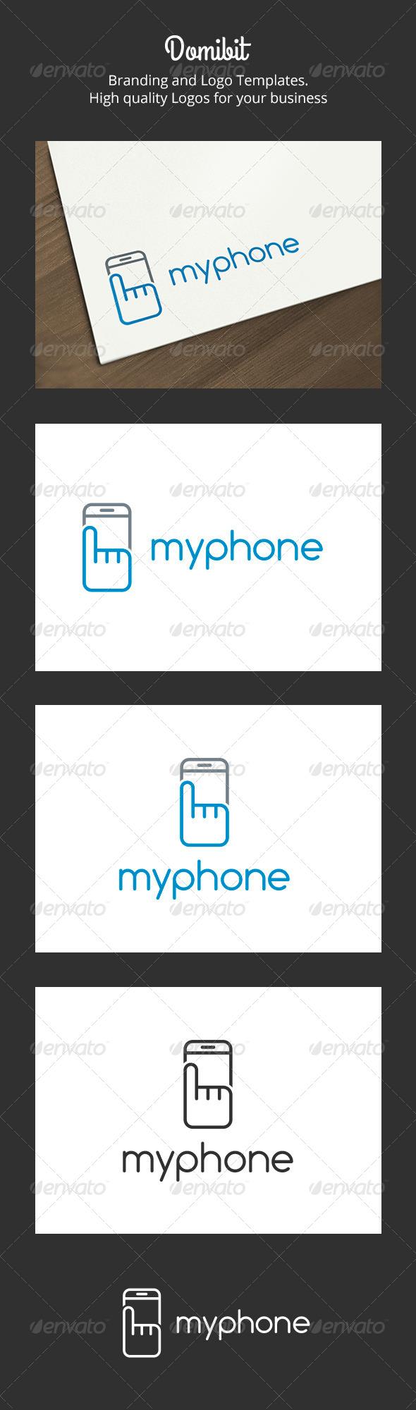 GraphicRiver My Phone Logo 6274434