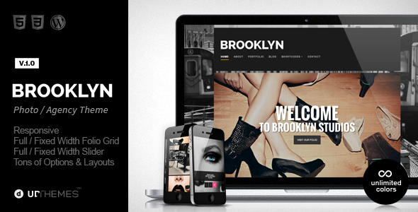 ThemeForest Brooklyn Creative Responsive WordPress Theme 6275077