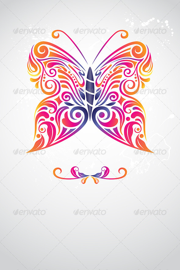 GraphicRiver Abstract Butterfly 6275981