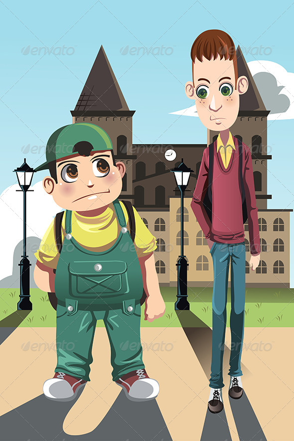 GraphicRiver Two Boys 6276081