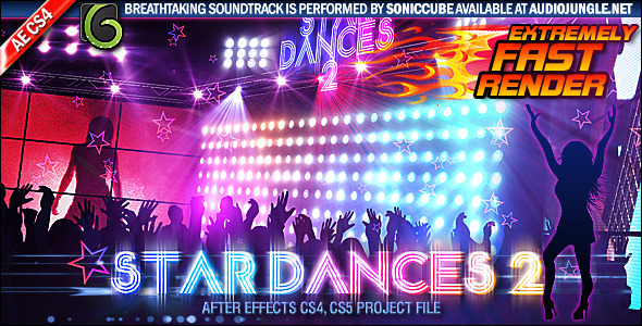 After Effects Project - VideoHive Star Dances 2 411826