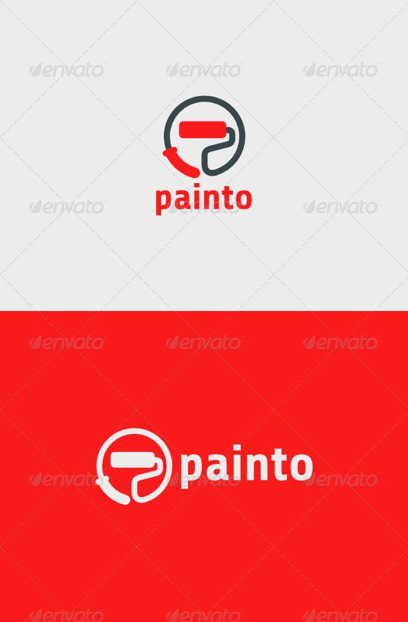 GraphicRiver Painto Logo 6276564