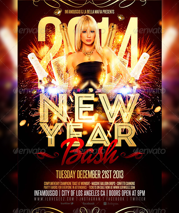 GraphicRiver New Year Bash 6276650
