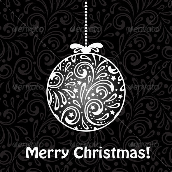 GraphicRiver Vector Christmas Greeting Card 6276828