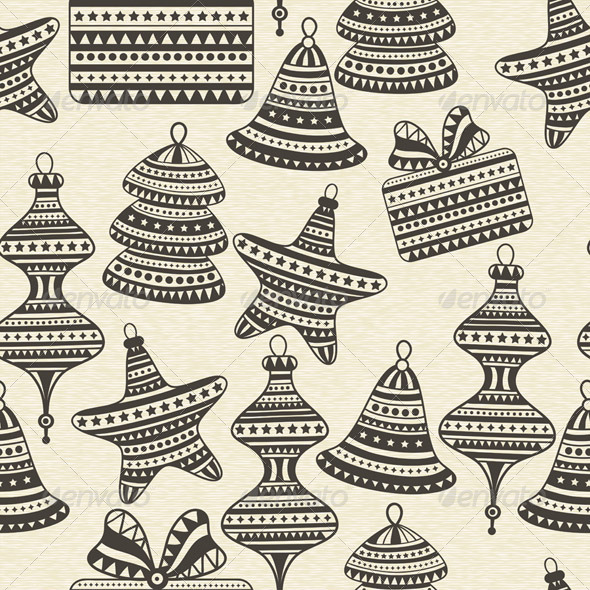 GraphicRiver Vector Seamless Winter Pattern 6276864
