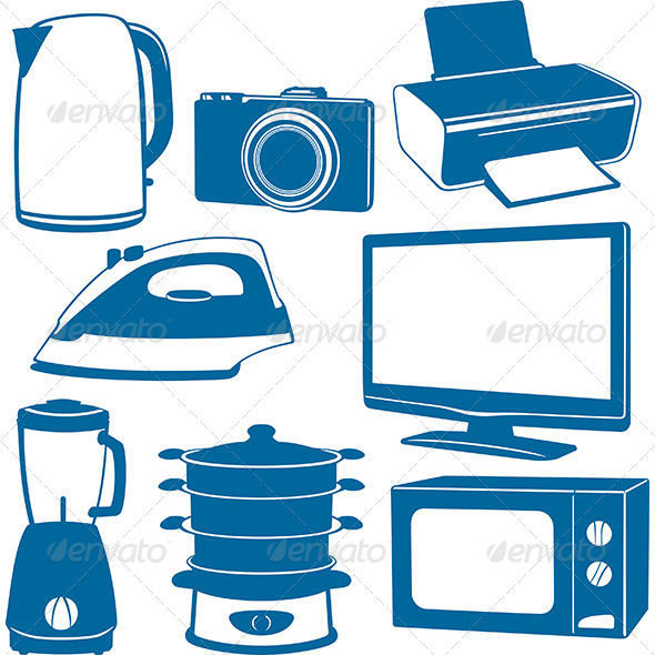 GraphicRiver Electrical Appliances 6276893