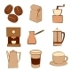 Set of Coffee Icons - GraphicRiver Item for Sale