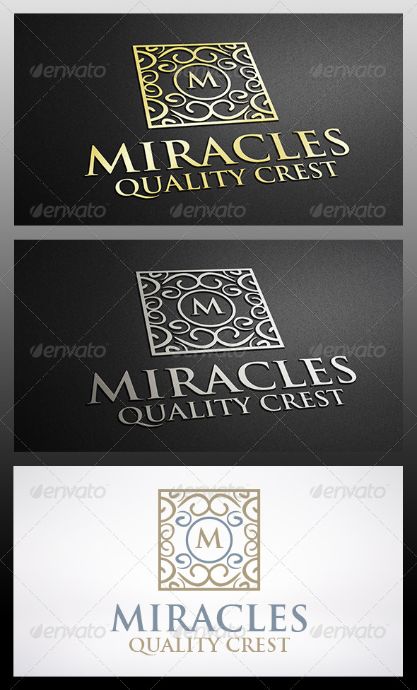 GraphicRiver Miracle Crest Logo 6277292
