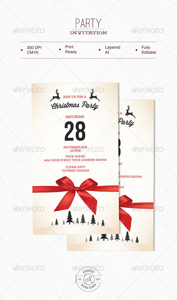 GraphicRiver Party Invitation 6277385
