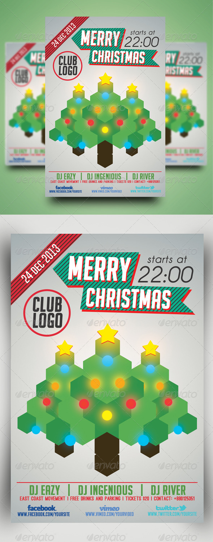 GraphicRiver Minimal Flyer Vol.5 Christmas 6227245