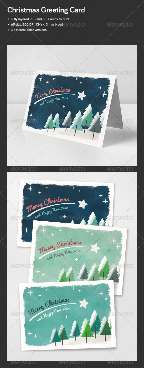 GraphicRiver Christmas Card 6277833
