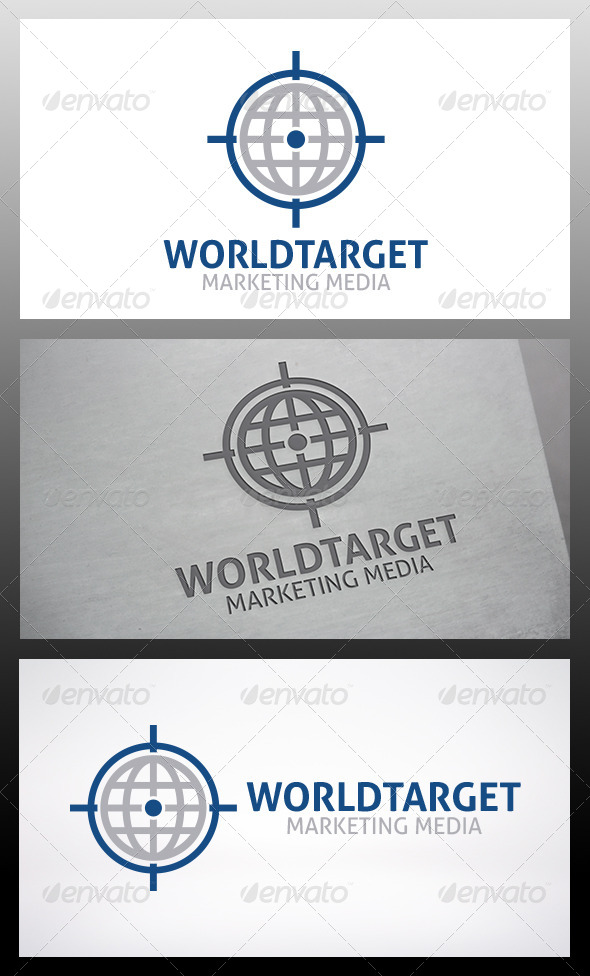 GraphicRiver World Target Logo 6277839