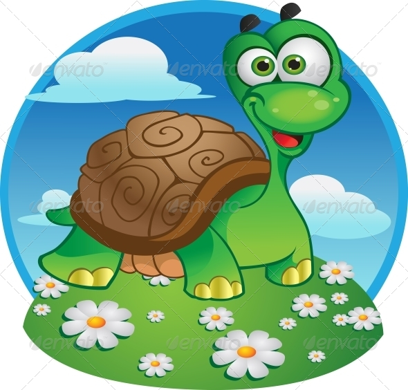 GraphicRiver Vector Tortoise 6278415