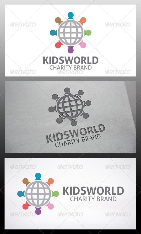 GraphicRiver Kids World Logo 6278471