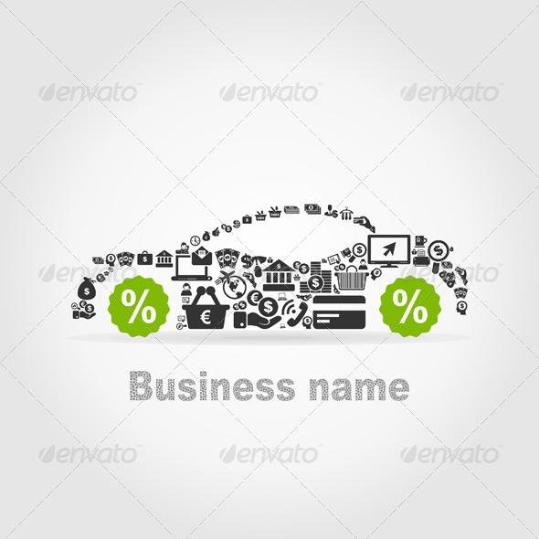 GraphicRiver Business Car 6278803