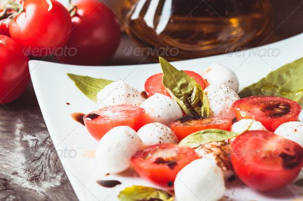 Caprese salad - Stock Photo - Images