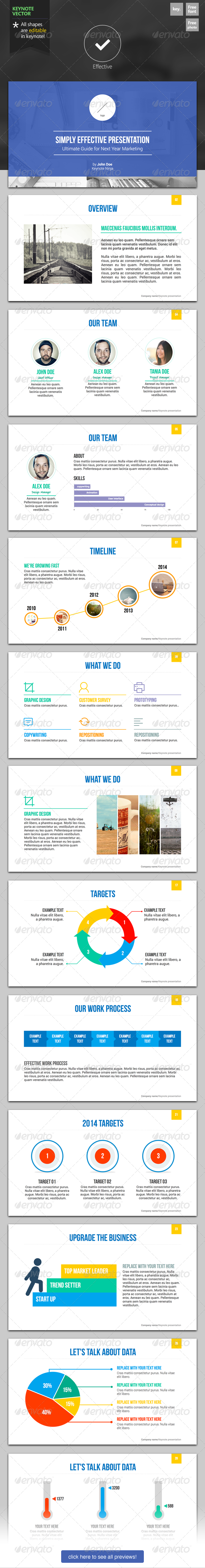 GraphicRiver Effective Keynote Template 6255095