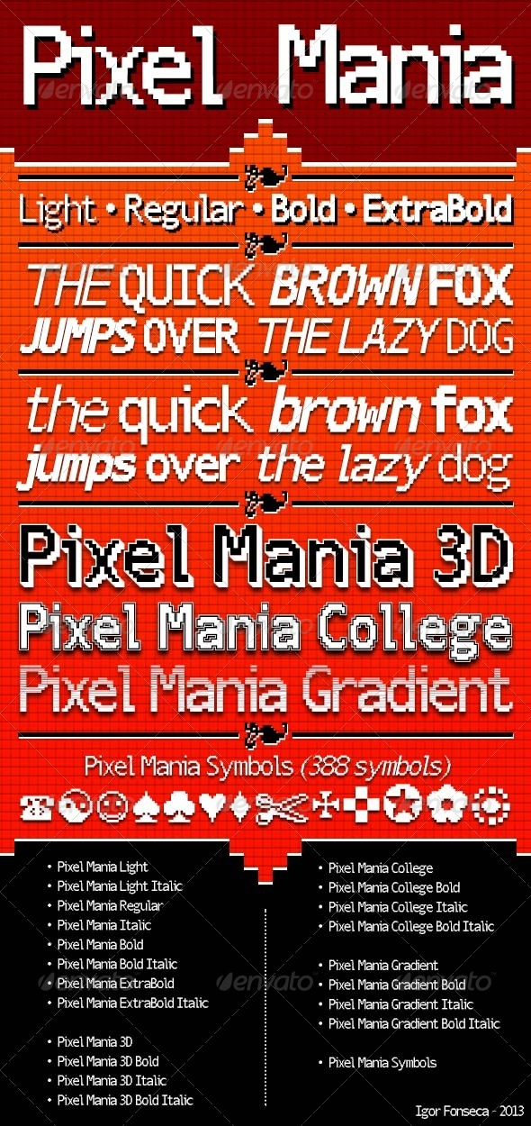 GraphicRiver Pixel Mania 6280075
