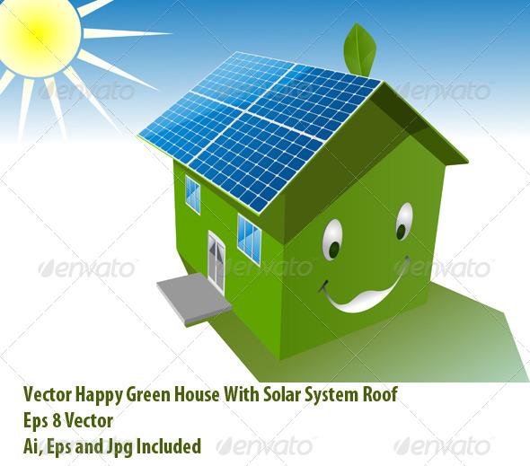 GraphicRiver Solar House 6280228