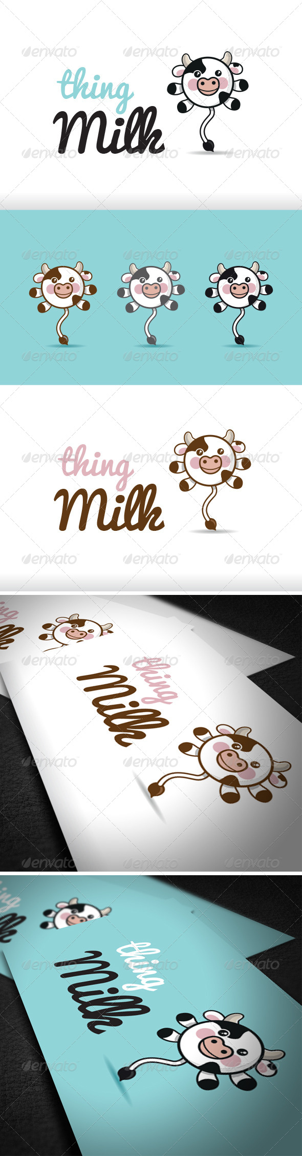 GraphicRiver Thing Milk Logo Template 6280474