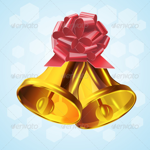GraphicRiver Christmas Bell.Vector 6280525