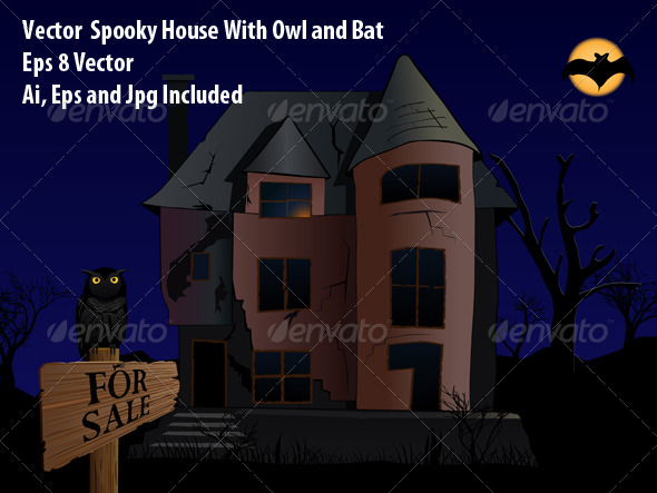 GraphicRiver Spooky House 6280626
