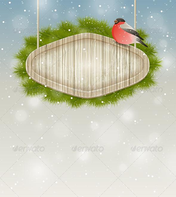 GraphicRiver Winter Background 6280627