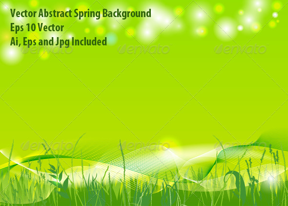 GraphicRiver Spring Background 6280652