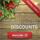 Wooden Christmas Web Banner Ads - GraphicRiver Item for Sale