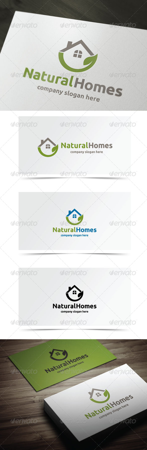 GraphicRiver Natural Homes 6280950