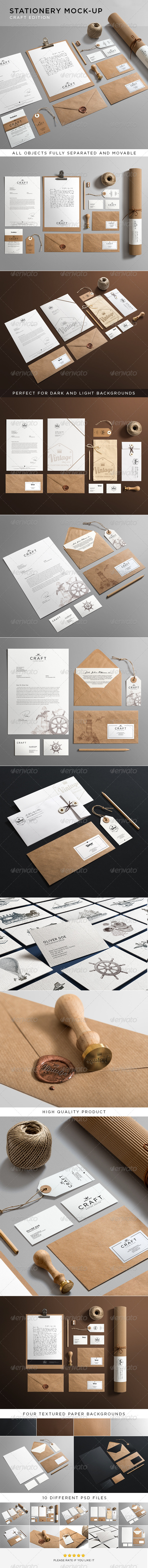 GraphicRiver Stationery Branding Mock-Up 6281184