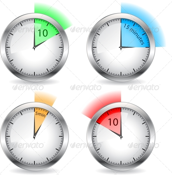 GraphicRiver Timers 6281429