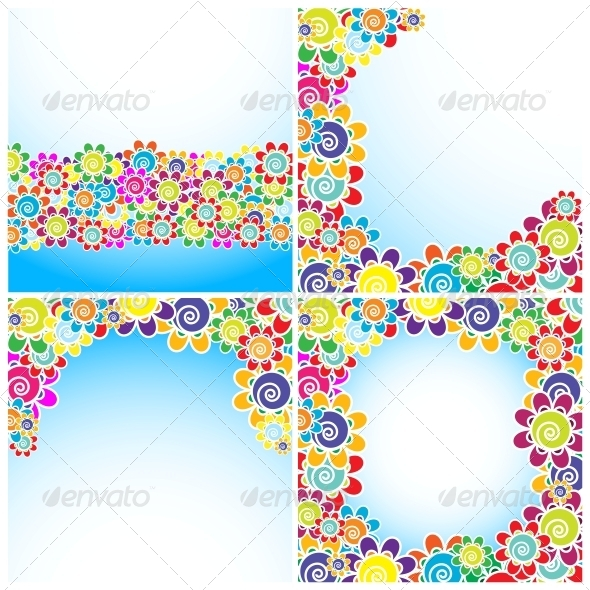 GraphicRiver Flowers Background 6281457