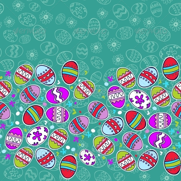 GraphicRiver Bright Background with Easter Egg 6281459