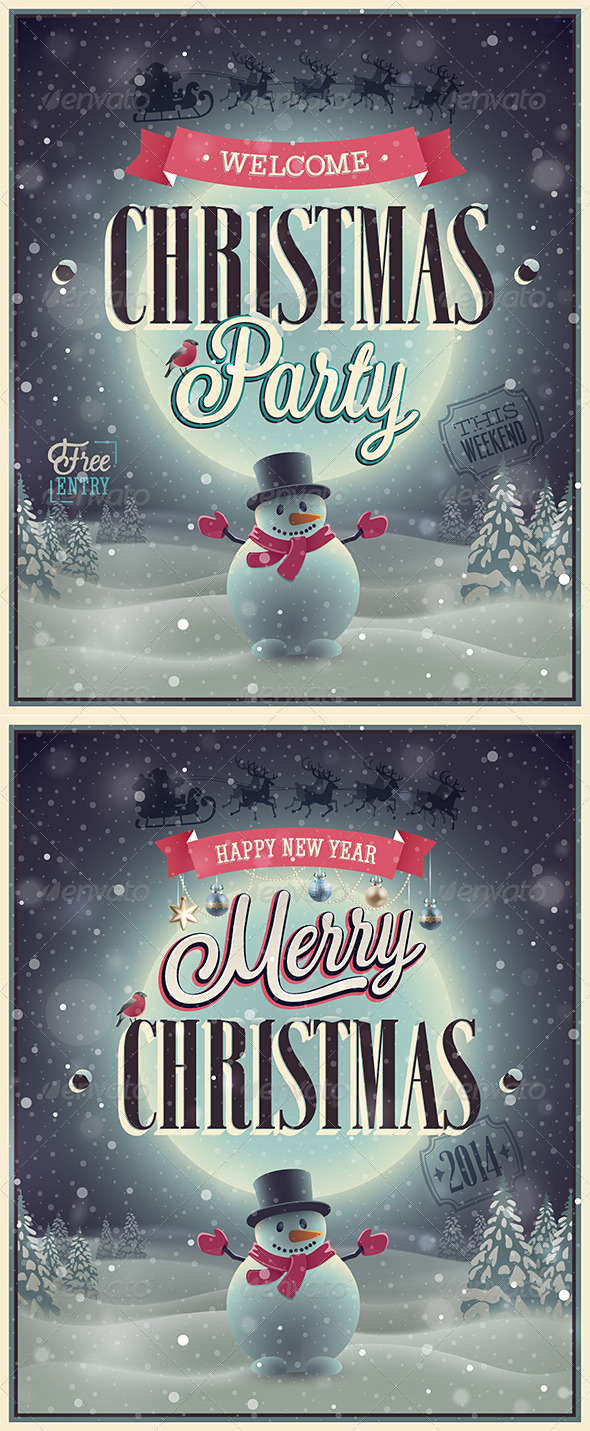 GraphicRiver Christmas Poster 6281625